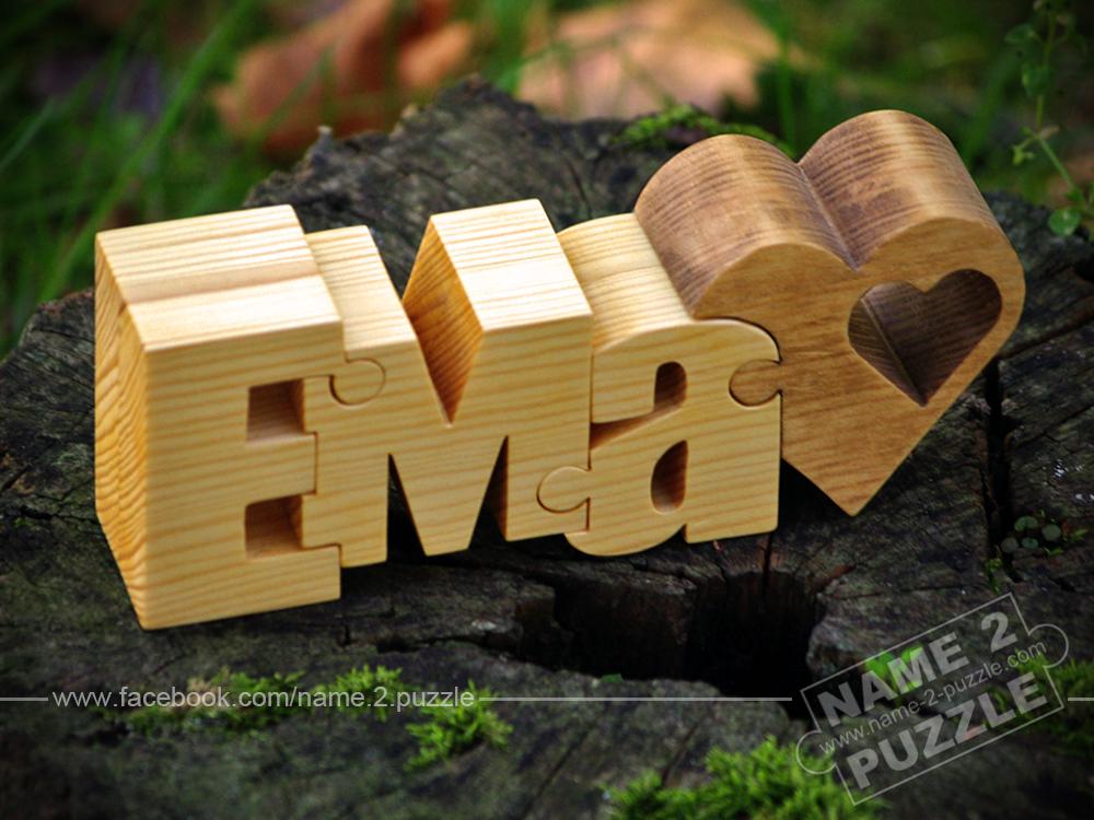 Ema name puzzle