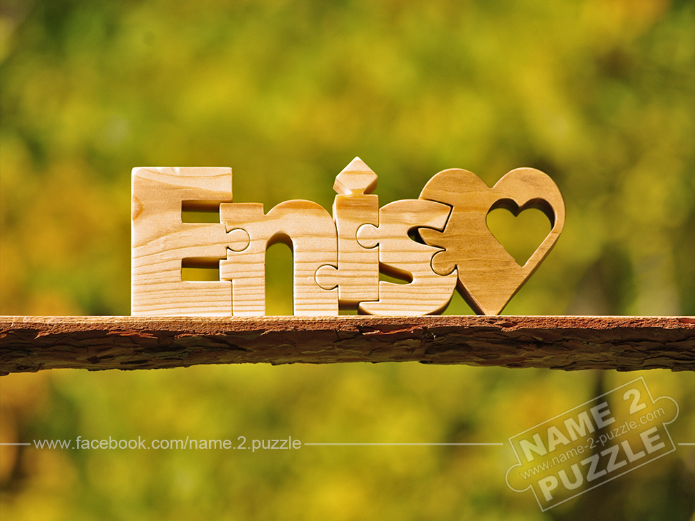 Handmade gifts  name Enis Love Gfts Gift ideas hand-picked