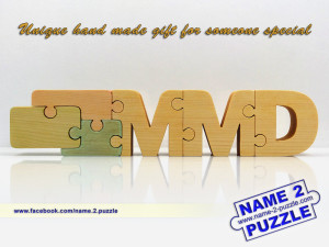 Wooden company puzzle