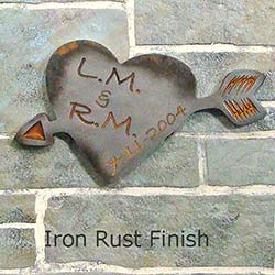Carved_Initials_Heart_Wedding_Plaque_Iron_Rust