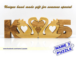 Wedding initials puzzles 1