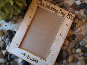 our_wedding_day_personalized_frame_with_carved_initials_and_engraved_wedding_date_-_great_bridal_shower_gift_holds_a_4x6_photo_1abbdb41