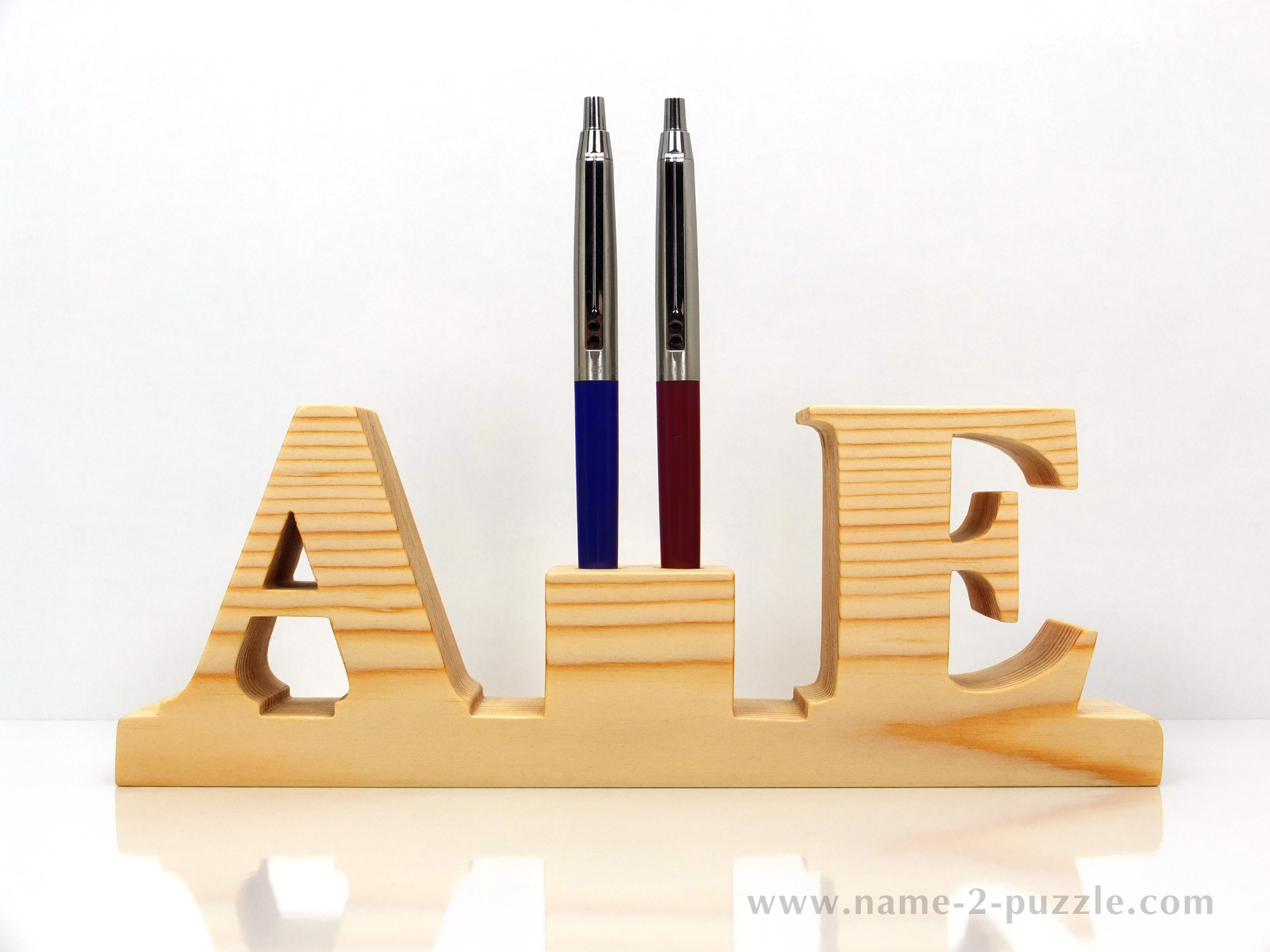 Pen Holders Unique 3d Name Puzzles Best Personalized Gifts