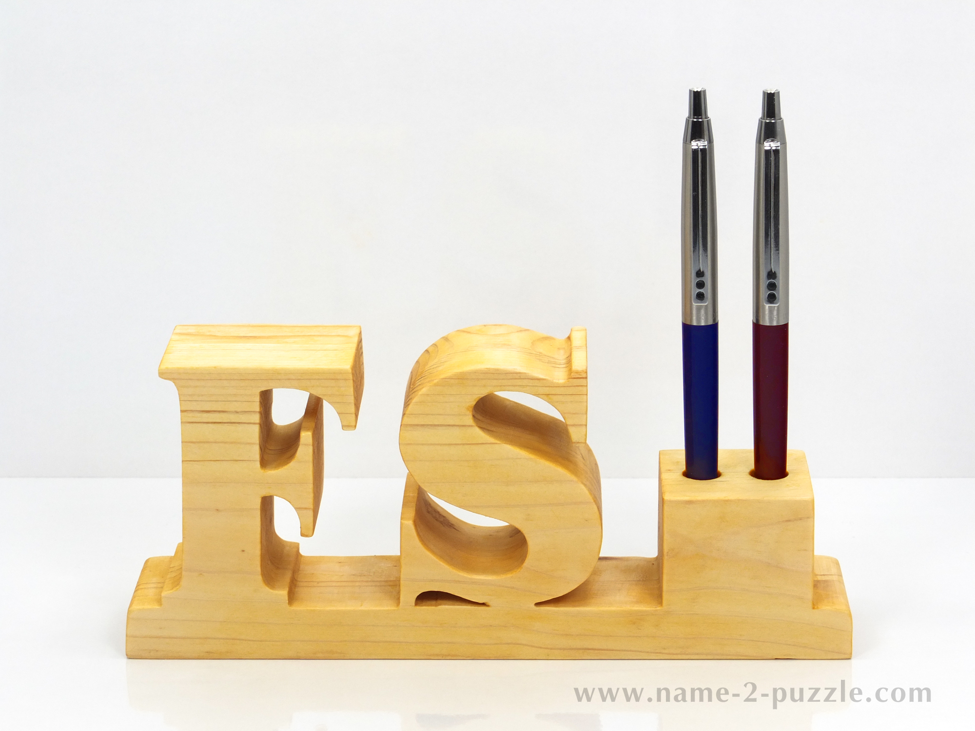 Ofiice gift ideas unique 3d name puzzles best personalized gifts pen holders 3 wooden gifts negle Choice Image